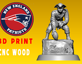 Icon The New England Patriots - NFL - 3d Print