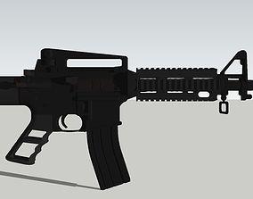 3D print model AR15 rifel