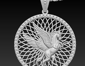3D printable model Circle hours pendant
