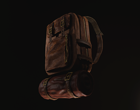 Backpack 3D model realtime PBR
