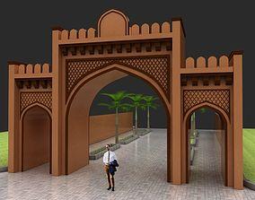 3D Islamic Gate