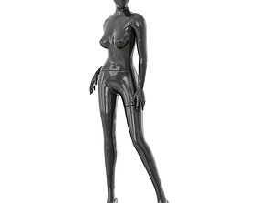 Abstract female mannequin 16 3D model