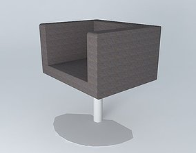 Armchair furniture 3D