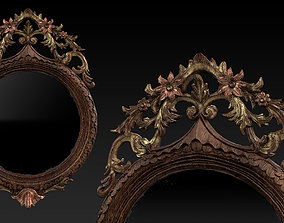3D Antique Mirror - PBR
