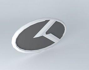 3D 3.0 K Logo