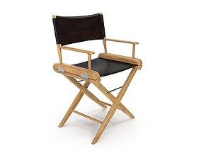 Director Chair PBR 3D model