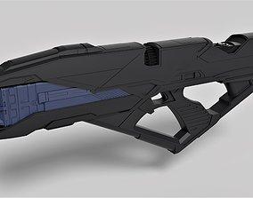 Vengeance Rifle from the movie Star Trek Into 3D model 1
