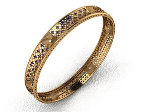 3D printable model Gold Bangle 19