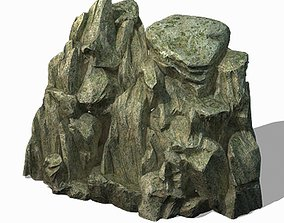 Mountain - Rock 036 3D model