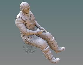 US NAVY PILOT 3D printable model