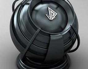 VRAY SHADER---METAL---Zinc Telluride 3D