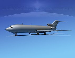 3D Boeing 727-200 Base Model