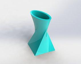Decorative Flower Pot 17 3D printable model