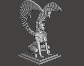 3D printable model Southern Oracle Sphinx inspired by 1