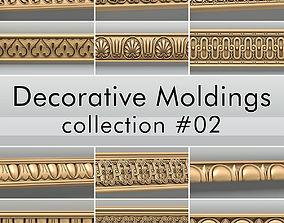 Decorative Moldings collection 02 3D