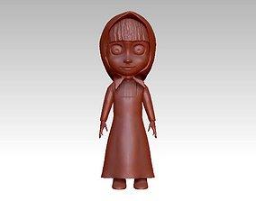 anna girl 3D print model