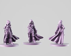 3D print model girl thief