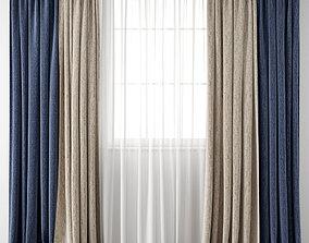 3D model Curtain 100