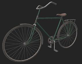 3D asset City Bicycle