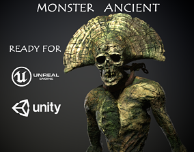 Monster Ancient 3D asset