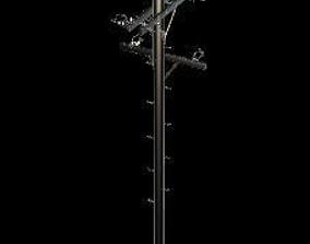 Electric Pole 3D model obj game-ready