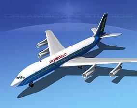 Boeing 707 Skyworld 3D model