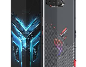 ROG Phone 5 portable 3D model