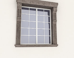 Window Frame 11 3D asset low-poly
