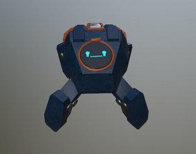 3D model Research robot assistant