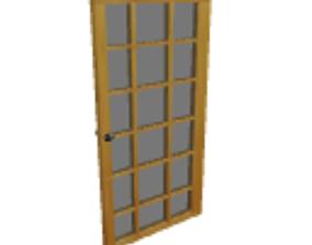 Patio door 3D model