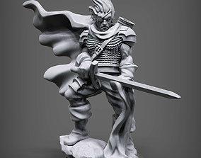 3D print model Drow Hero