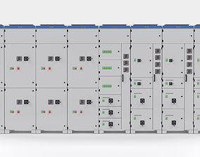 3D model Complete Panels electricity cupboard