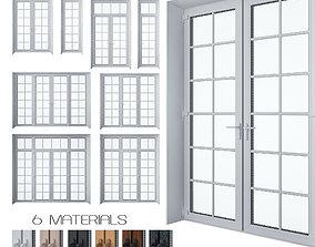 Door Set plastic 3D