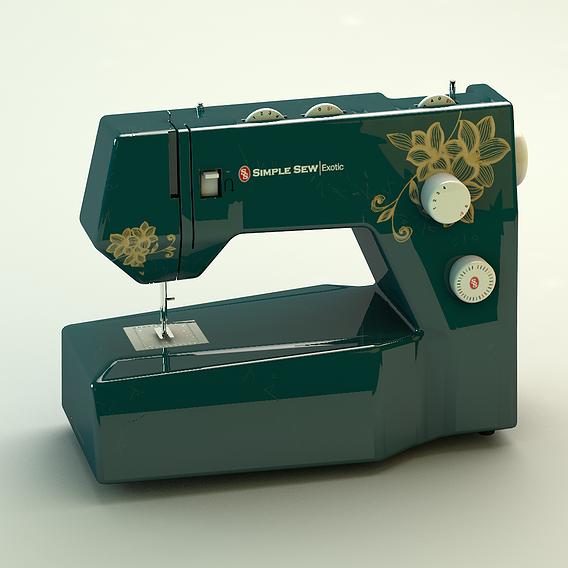 Sewing Machine Vintage Style