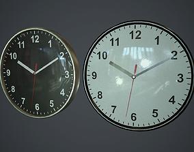 Wall Clock PBR Game Ready 3D asset