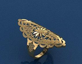 fashion-ring 3D printable model Ring 60