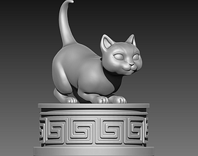3D printable model kitty Kitty
