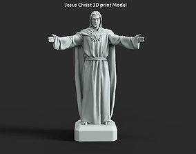 Jesus Christ vol3 statue for 3d print lord