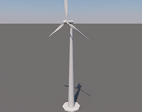 3D model realtime Wind Turbine