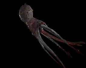 Star Vampire - Lovecraft Monster 3D asset
