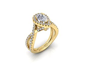 solitairering Solitaire Ring 22 3D print model