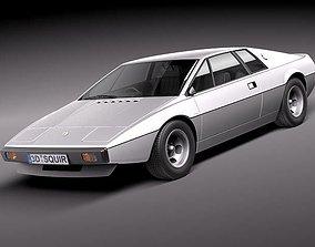 Lotus Esprit S1 1976-1980 3D