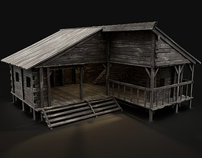 BLACKSMITH WORKSHOP FORGE SMITHY WAREHOUSE SHOP 3D asset 2