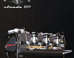 3D model La Marzocco Strada Coffee machine