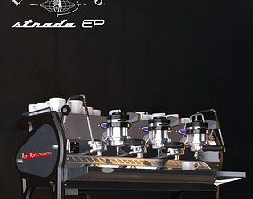 3D model La Marzocco Strada Coffee machine