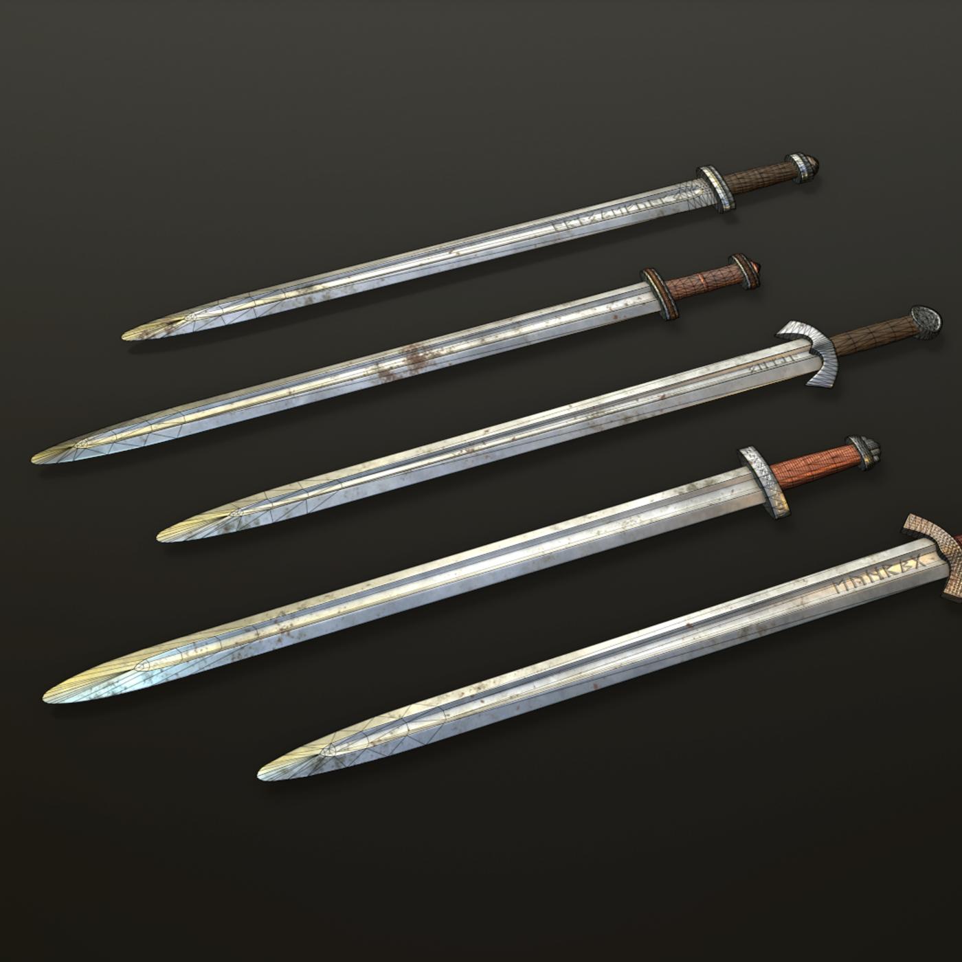 Scandinavian swords vol pack