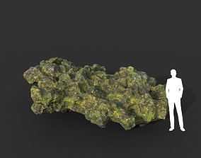 Low poly Mossy Cave Modular 07 200119 3D asset