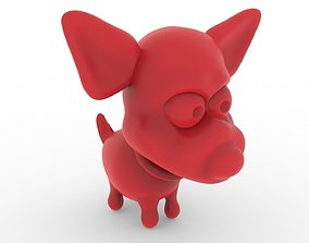 3D print model Chihuahua Dog Toon