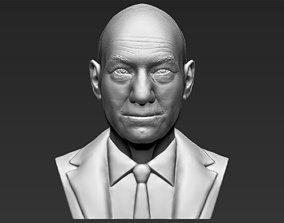 Professor X Charles Xavier bust 3D printing ready stl