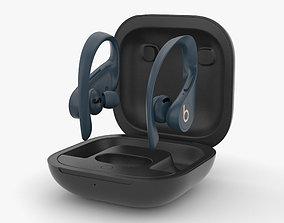 Beats Powerbeats Pro Navy 3D
